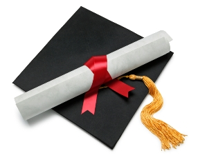 how to get picture of high school diploma